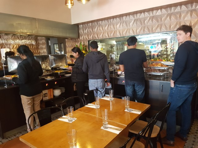 Buffet at Lal Qila Pakistani Restaurant Sydney