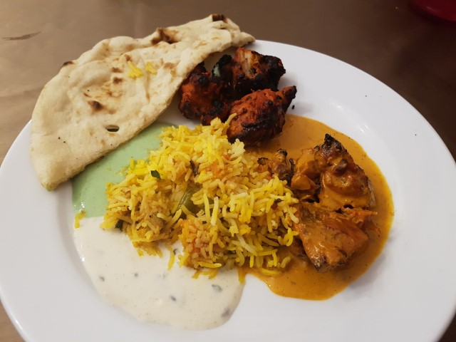 Food at Lal Qila Mughlai Restaurant Sydney