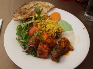 Food at Lal Quila Mughlai Restaurant Sydney