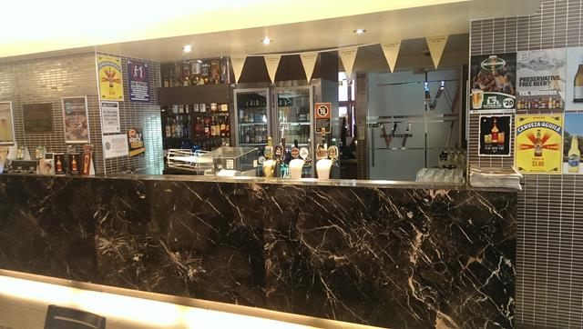 Bar at the Woolpack Hotel Parramatta