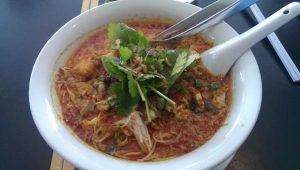 Laksa at The Malaya