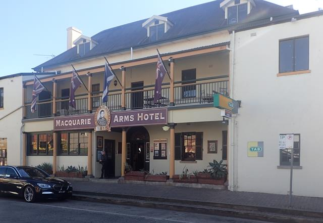 Macquarie Arms Hotel Windsor Sydney