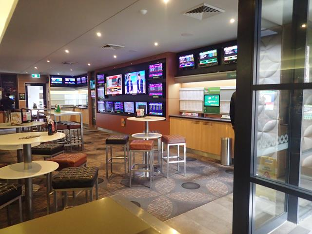 Sports Bar at the Coolibah Hotel
