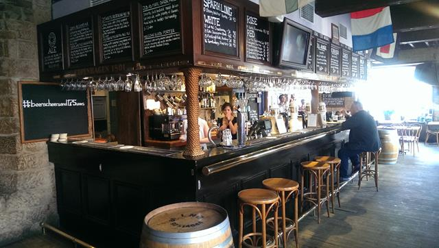 The Bar at the Lord Nelson Pub Sydney