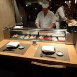 Great Sushi Bar at Azuma Japanese Restaurant Sydney