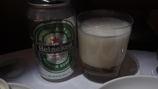 Heineken beer head