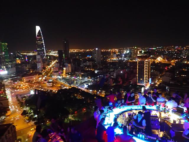 Most popular rooftop bar in Saigon