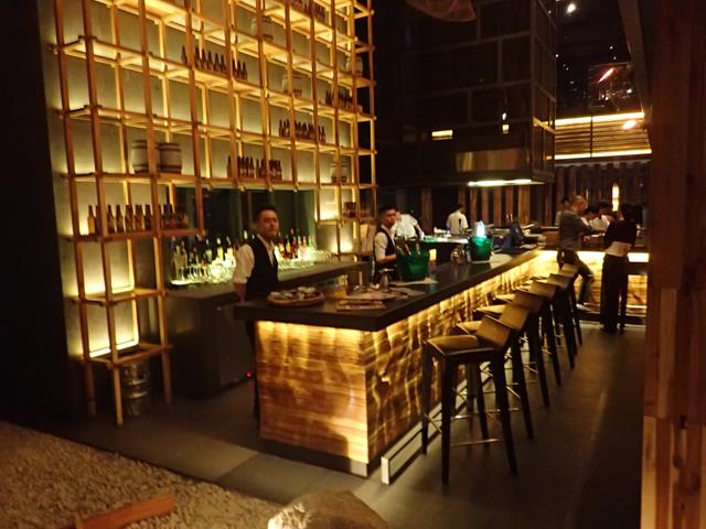 One of the bars at Sorae Japanese Restaurant