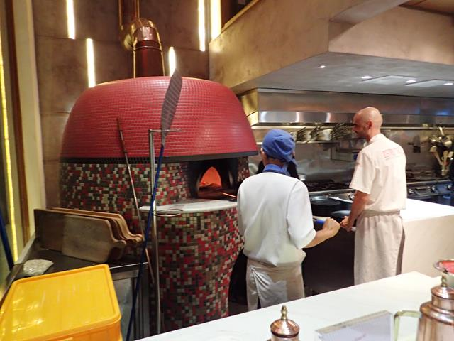 Pizza oven at Namo Pizzeria Saigon