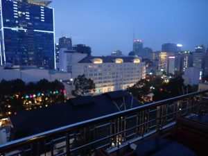 Saigon Saigon Rooftop Bar View Ho Chi Minh City