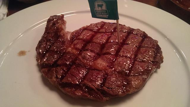 Steak at El Gaucho Steakhouse
