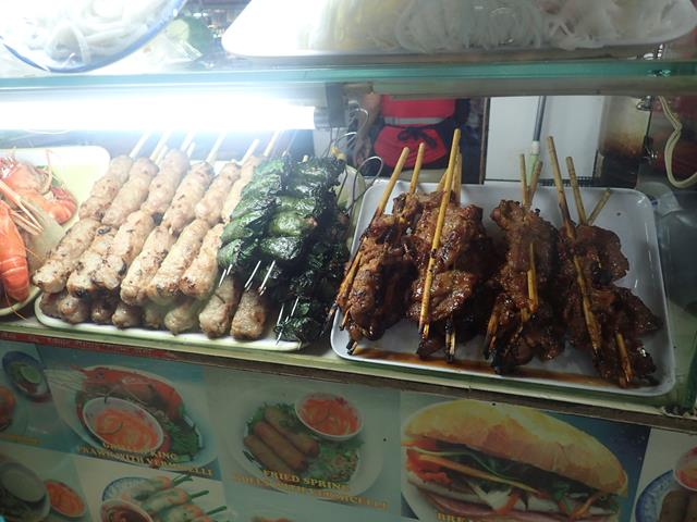 Street Food at Ben Thanh Markets