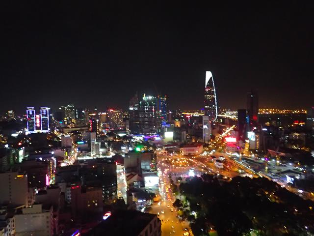 View from Chill Rooftop Bar