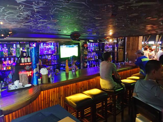 Inside Bamboo 2 Bar Danang