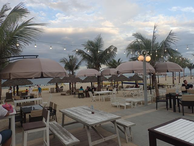 The Holiday Beach Club beach bar Danang