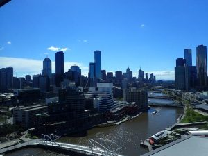 View of South Wharf Melbourne