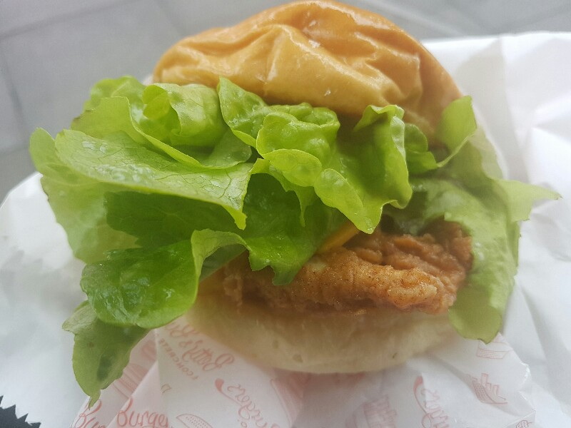 Betty's Burgers Crispy Chicken Burger