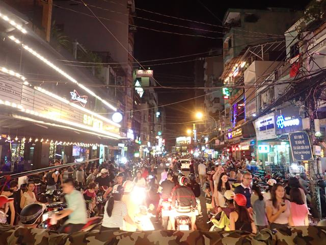 Bui Vien Street Nightlife