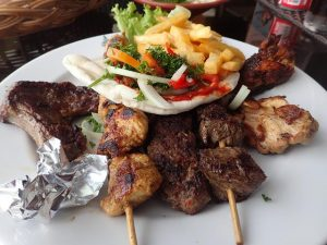 Mixed grill at Palace Lebanese Restaurant