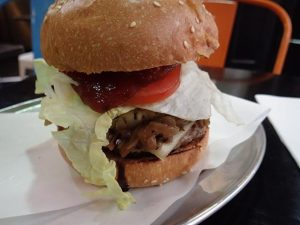 Supreme Burger at Metro Burgers Melbourne