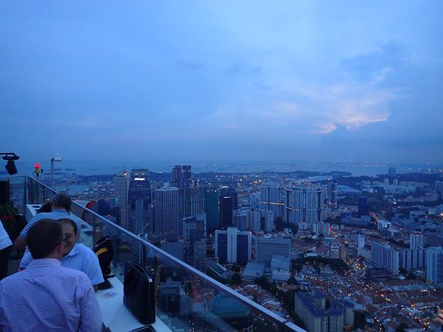 View from 1-Altitude Rooftop Bar