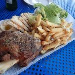 Lamb shoulder at Jimmy Grants Greek Restaurant Robina