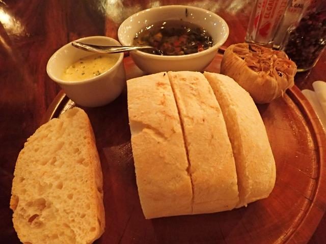 Complimentary Bread at El Gaucho Steakhouse