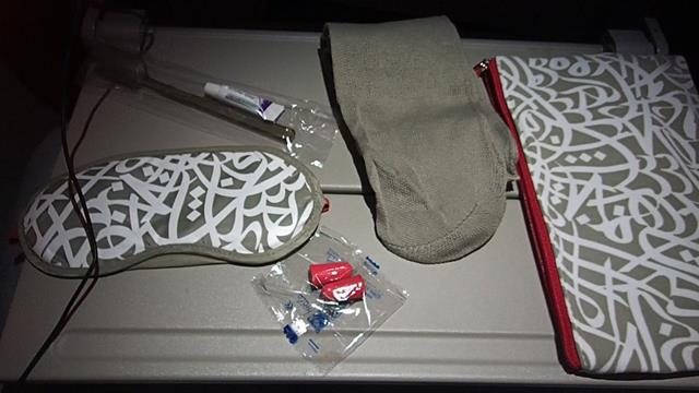 Emirates Economy Amenities Kit