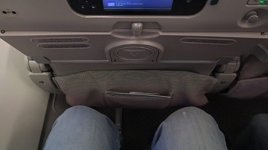 Good Leg room for Economy Seat