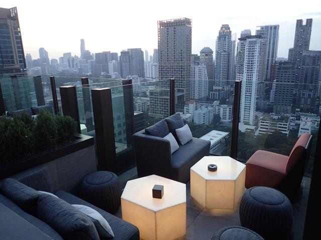 Lounges at Char Rooftop Bar