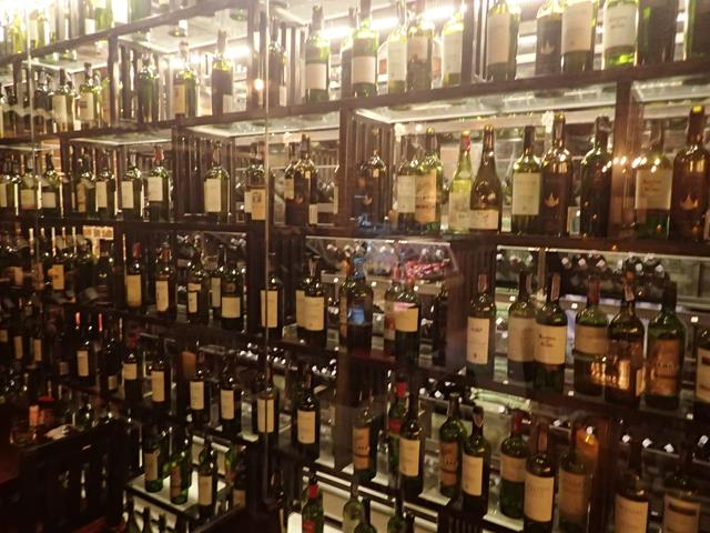 Wine cellar at El Gaucho Steakhouse Bangkok