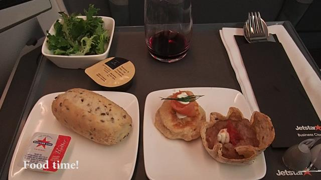 Appetizer Food on Jetstar