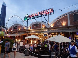 Asiatique The Waterfront market Bangkok