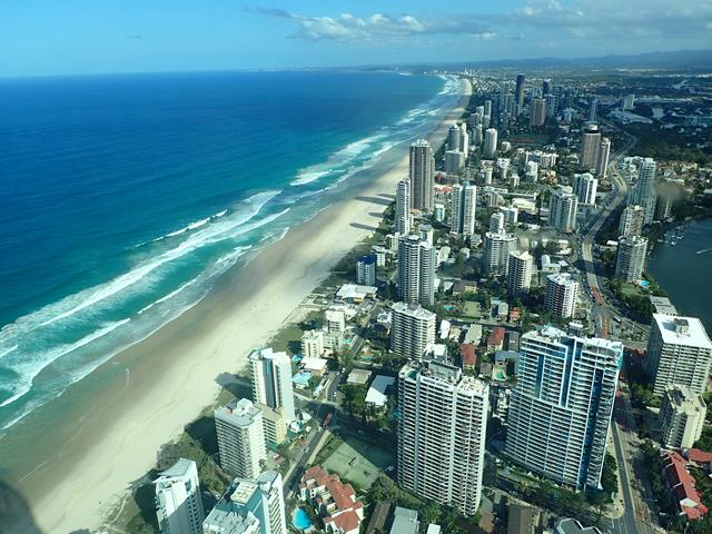 Best view over Gold Coast Beaches