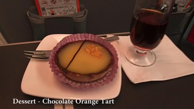 Dessert Chocolate Orange Tart