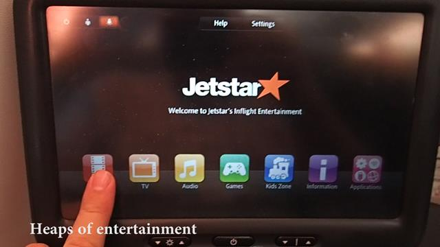 Jetstar Inflight Entertainment