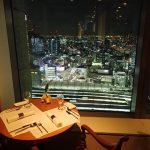 Restaurant with a view over Tokyo - Mango Tree Thai Restaurant