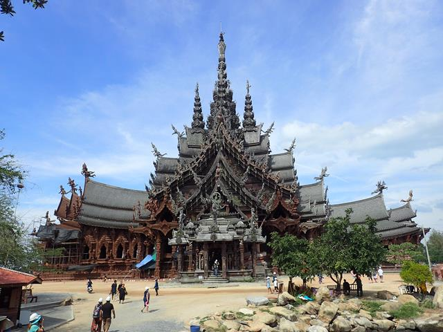 The Sanctuary of Truth Pattaya Thailand