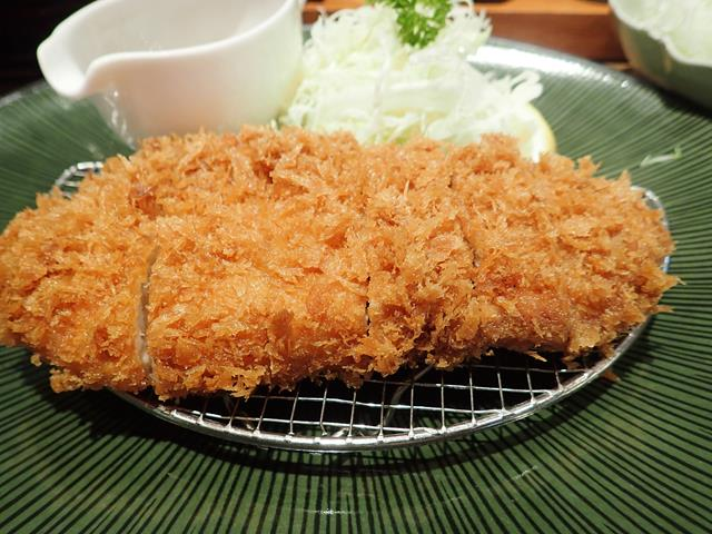 Tonkatsu at Maisen Japanese Restaurant Bangkok