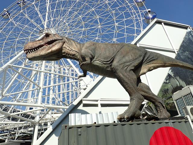 Tyrannosaurus Rex at Planet World Bangkok
