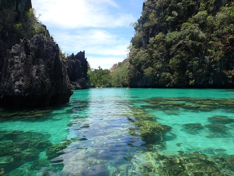 The Lagoons Of El Nido Palawan Island Philippines