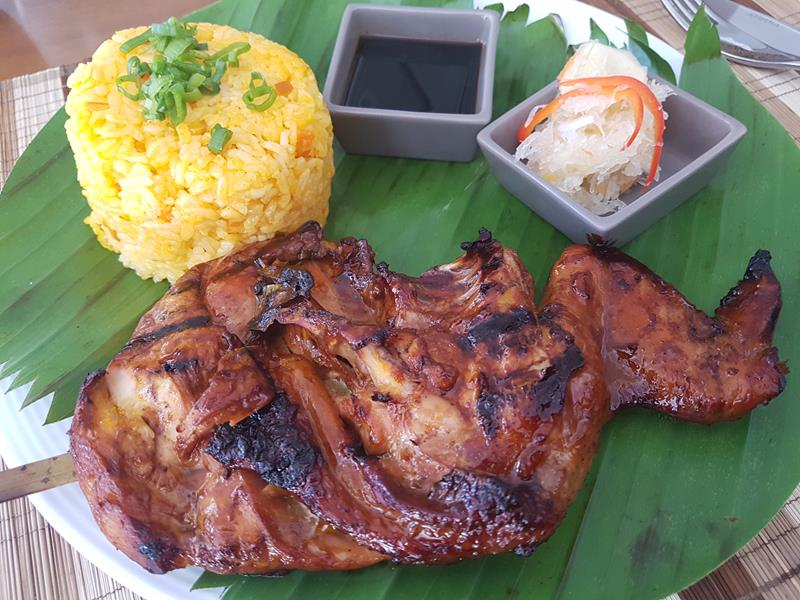 Chicken Inasal Filipino Food