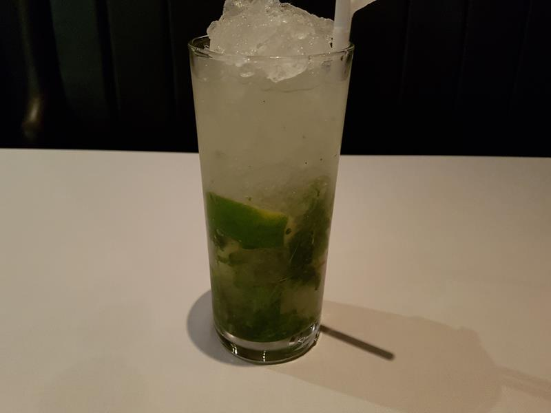 Classic Mojito at Ruby Jack's Steak House