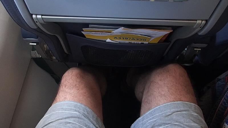 Leg Room on Cebu Pacific A320
