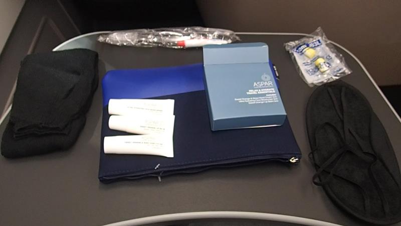 Qantas Business Amenities Kit