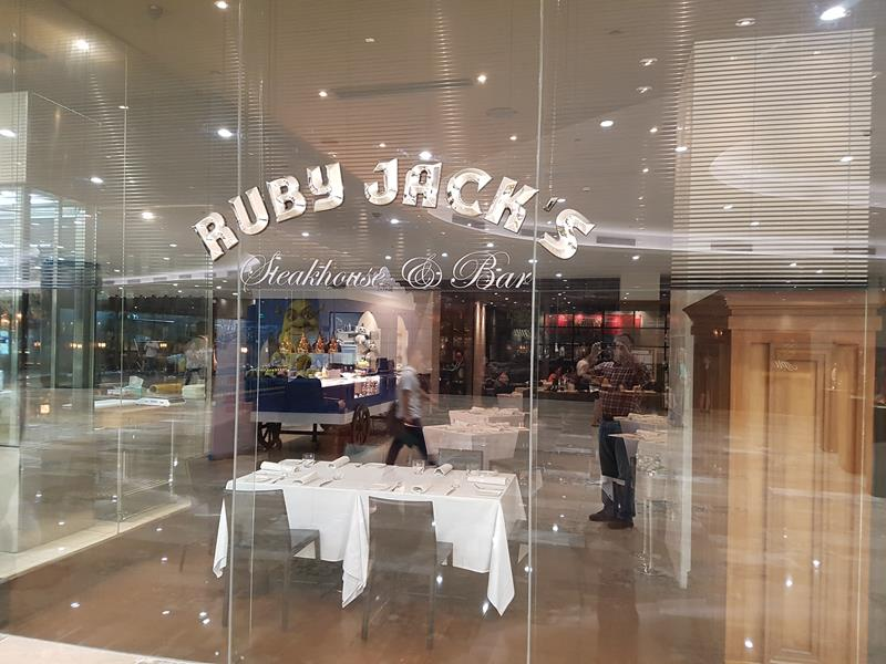 Ruby Jack's Steak House Restaurant Manila