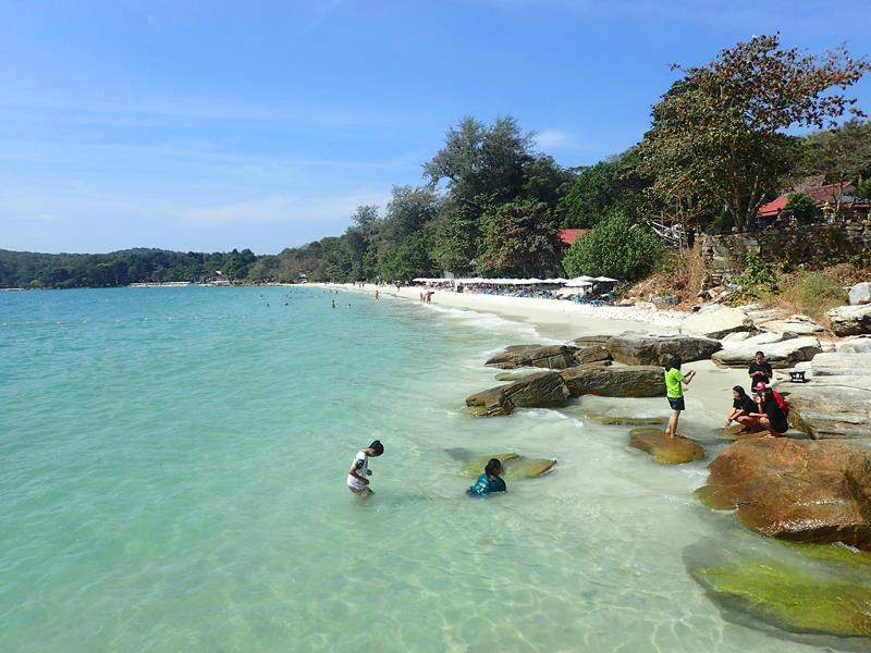 Good snorkeling at Koh Samet