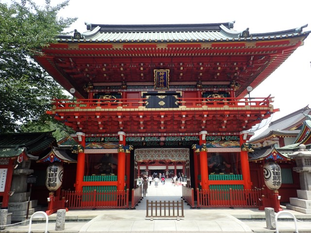Zuishin Gate at Kanda Myojin Shrine