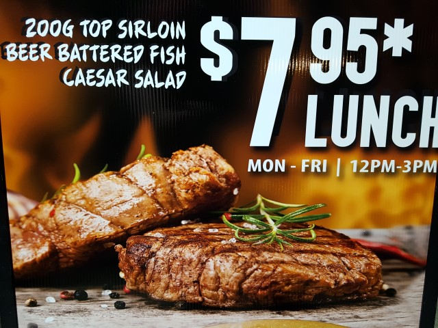 Cheap steak meals on the Gold Coast