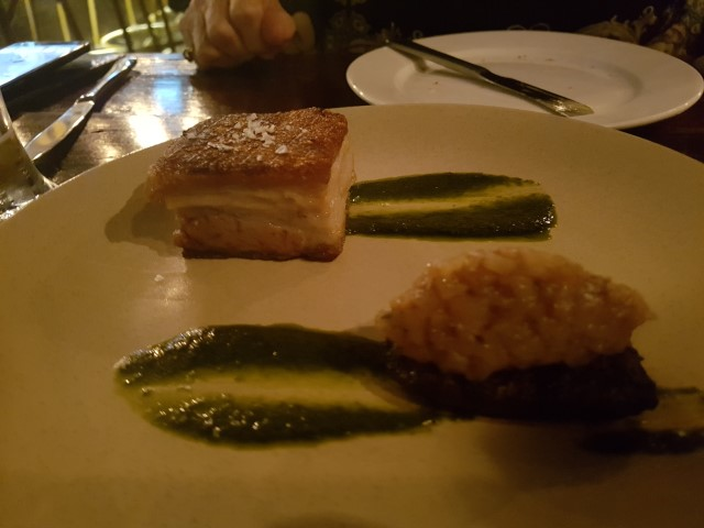 Crispy Pork Belly at The Glenelg